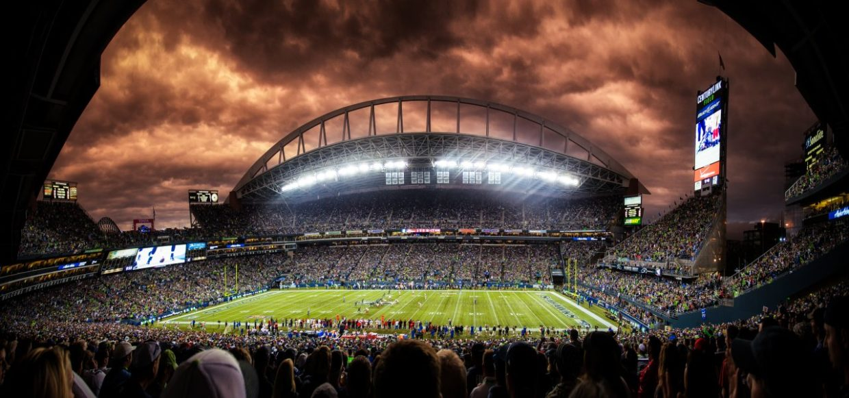 Century Link Field: Image credit unknown