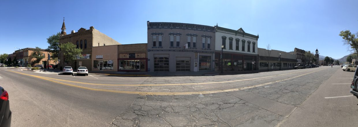 Featured photo: 300 block, Main St Cañon City, Colorado. Facing South.
